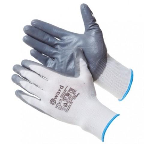 Перчатки из нейлона с нитриловым покрытием Gward Nitro