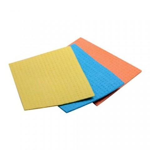 Салфетки губчатые целлюлозные 3 шт