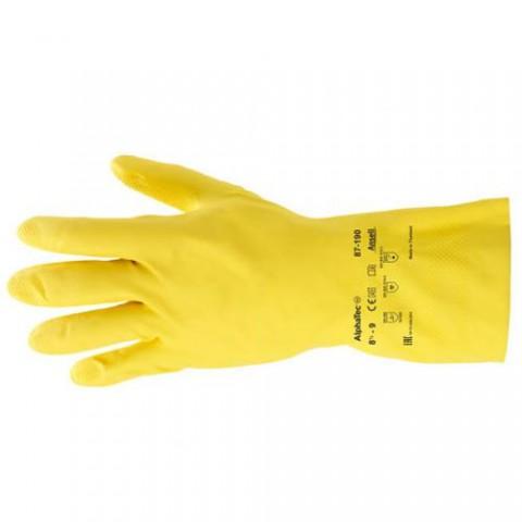 Перчатки латексные Ansell Econohands (AlphaTec 87-190)