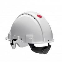 Каска защитная белая 3М PELTOR G3000NUV-VI