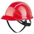 Каска защитная красная Байкал Ампаро