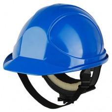 Каска защитная синяя Байкал Люкс Ампаро