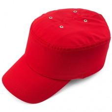 Каскетка защитная красная Престиж Ампаро