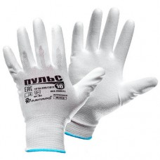 Нейлоновые перчатки с полиуретановым покрытием Ампаро Пульс