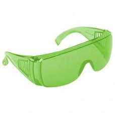 Очки защитные Люцерна с зелеными линзами