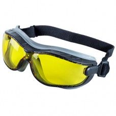 Очки защитные закрытые Сапсан желтые прямая вентиляция
