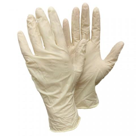 Латексные неопудренные перчатки Deltagrip Gevea