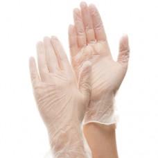Прозрачные виниловые перчатки Deltagrip Vinyl Clear