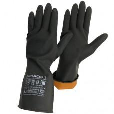 Резиновые технические перчатки КЩС тип 1 Gward ACID 1