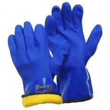 Перчатки с мехом и текстурным ПВХ Gward Barrel Plus