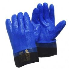 Маслобензостойкие перчатки с ПВХ Gward Barrel Strong