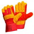 Перчатки спилковые улучшенные комбинированные Gward Docker Lux