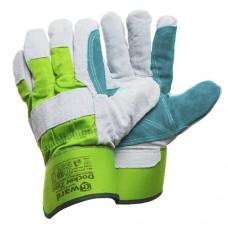 Спилковые перчатки с утеплителем Gward Docker Zima