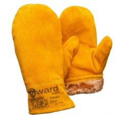 Спилковые утепленные рукавицы Gward Forester Zima