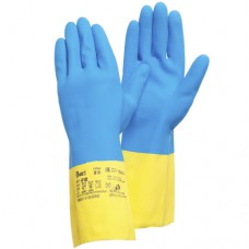 Химстойкие перчатки из латекса и неопрена Gward HP300