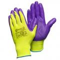 Нейлоновые перчатки с нитриловым покрытием Gward Hi-Vis