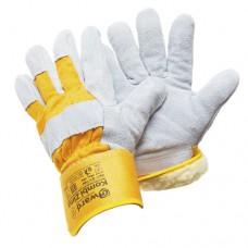 Утепленные спилковые перчатки Gward Kombi Zima