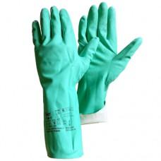 Химстойкие нитриловые перчатки Gward RNF15