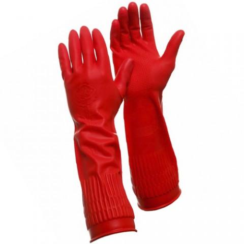 Длинные латексные прочные перчатки Gward Rose