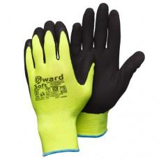 Яркие перчатки со вспененным латексом Gward Soft