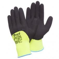 Яркие перчатки со вспененным латексом Gward Soft Plus