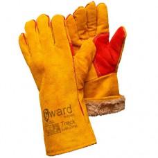 Спилковые утепленные перчатки Gward Track Lux Zima