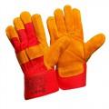 Перчатки спилковые комбинированные усиленные Gward Ural