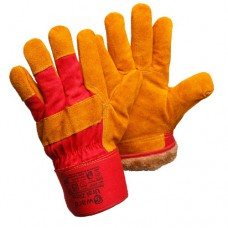 Утепленные спилковые перчатки Gward Ural Zima