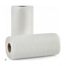 Бумажные полотенца целлюлозные в рулонах 2 шт.