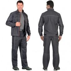 Костюм Алекс серый, куртка, брюки