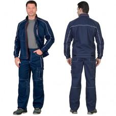 Костюм Алекс темно-синий, куртка, брюки