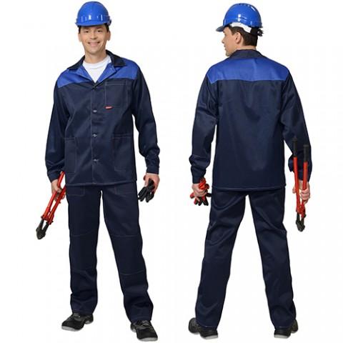 Костюм Аспект-стандарт темно-синий, куртка, брюки