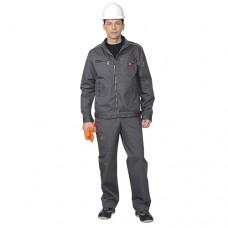 Костюм Даллас серый, куртка, полукомбинезон