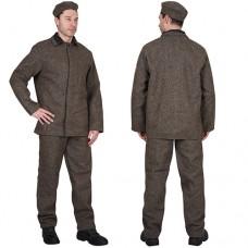 Костюм КЩС суконный: куртка, брюки, берет серый