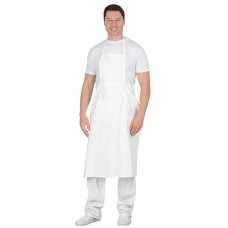 Фартук повара с грудкой (бязь) белый