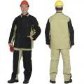 Костюм сварщика брезентовый со спилком (2,7 кв.м) тип Б, куртка, брюки
