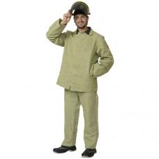 Костюм сварщика брезентовый, куртка, брюки