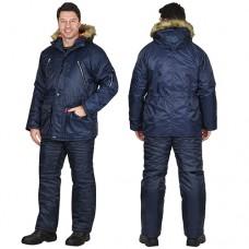 Куртка Аляска зимняя удлиненная