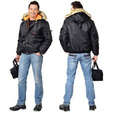 Куртка Аляска зимняя укороченная