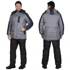 Куртка Енисей зимняя серая
