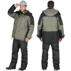 Куртка Европа зимняя оливковая