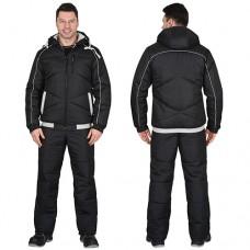 Куртка Имидж зимняя черная