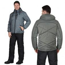 Куртка Имидж зимняя серая