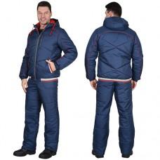 Куртка Имидж зимняя синяя