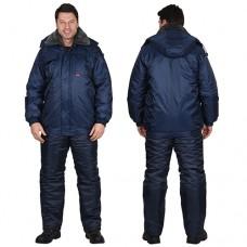 Куртка Полюс синяя зимняя