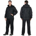 Куртка Прага-Люкс черная зимняя