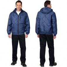 Куртка Прага-Люкс синяя зимняя