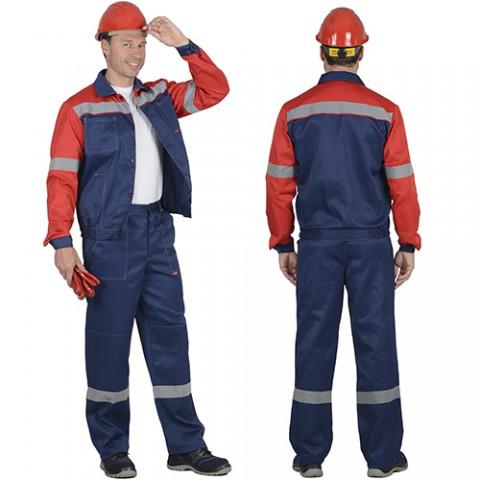 Костюм Легионер темно-синий с красным, куртка, брюки