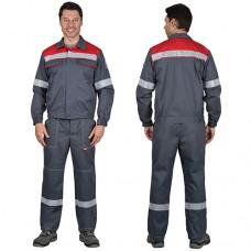 Костюм Мегион куртка, брюки из антистатической ткани с МВО