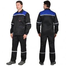 Костюм Механик черный, куртка, брюки